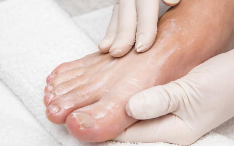 maschere piedi