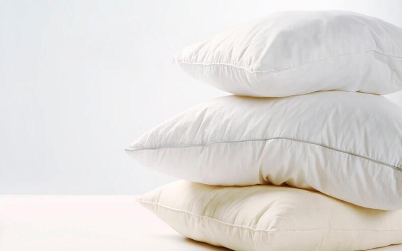 riportare il cuscino al bianco originario