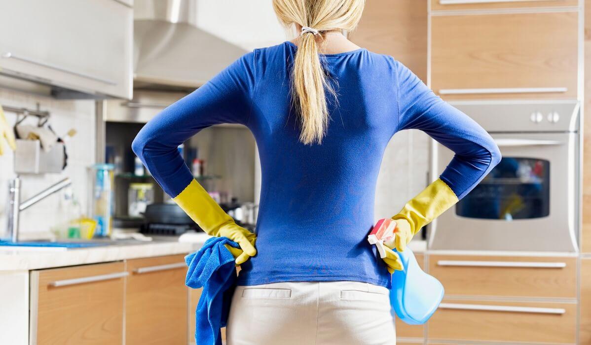 aceto per pulire la cucina