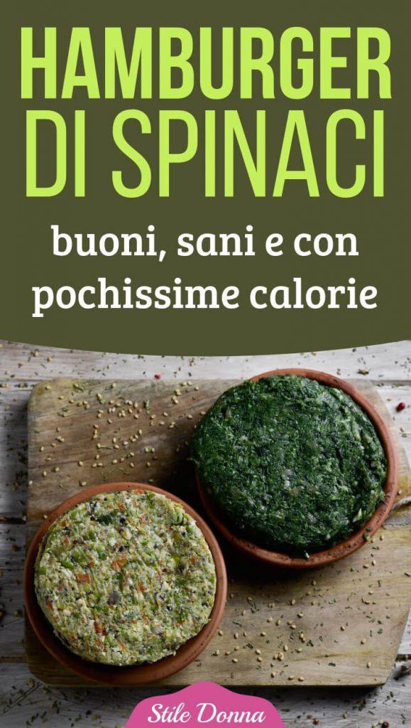 Favorito Ricetta hamburger di spinaci: buoni, sani e con poche calorie FF51