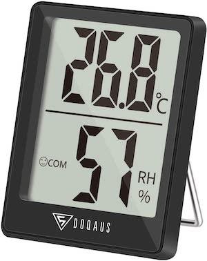 DOQAUS Igrometro Termometro Digitale LCD