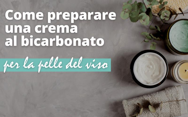 Come preparare una crema al bicarbonato contro le rughe