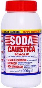 Soda caustica in scaglie