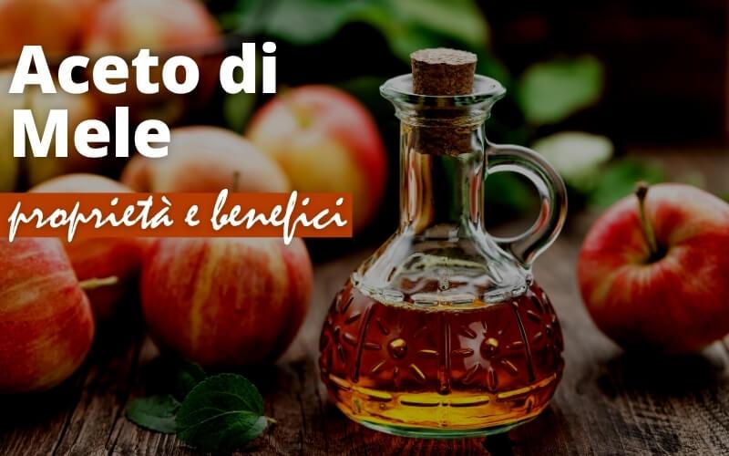 aceto di mele benefici