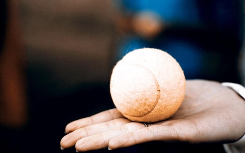 palla da tennis