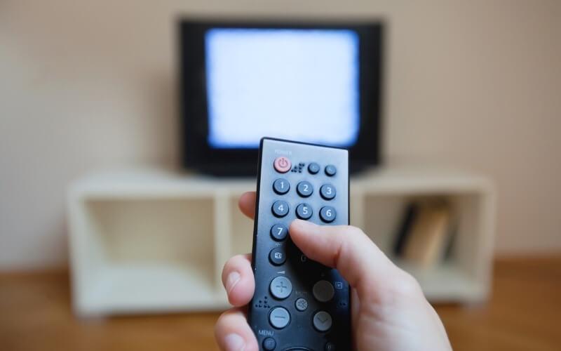 tv in casa