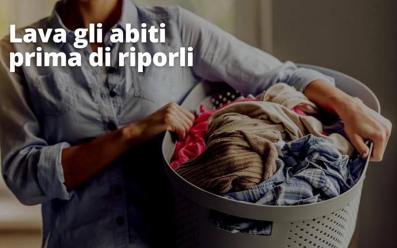lavare abiti
