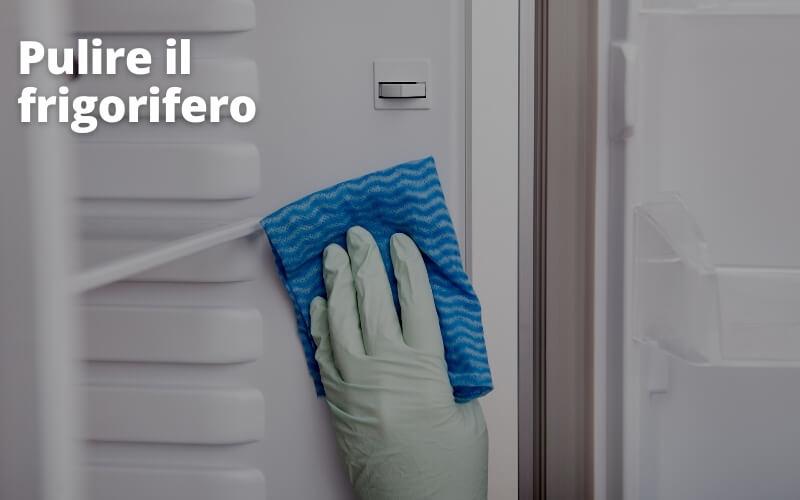Per pulire il frigorifero