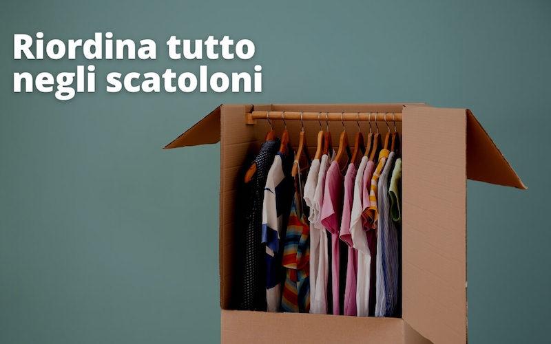 scatoloni vestiti