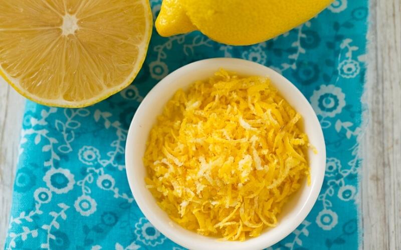 scorza limone