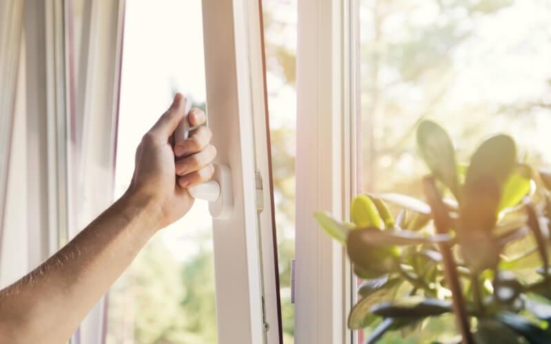 aprire finestre