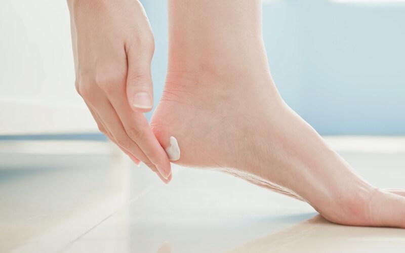 crema piedi