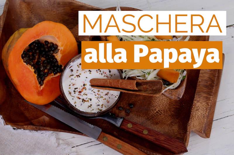 maschera papaya