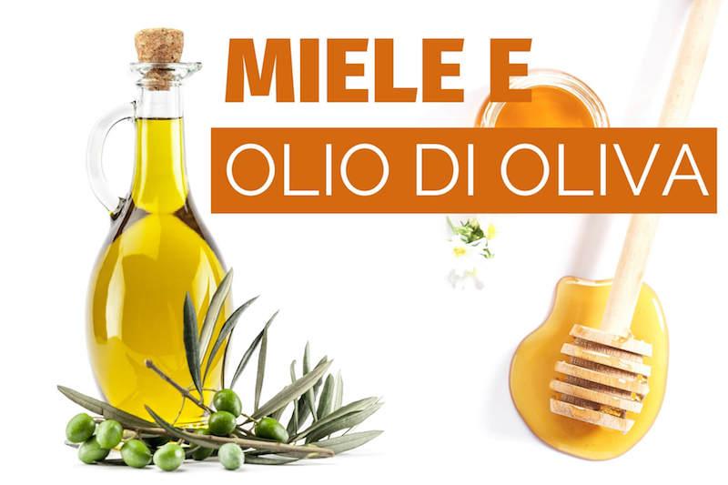 olio di oliva e miele