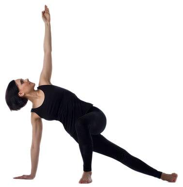 8. Plank laterale 'variazione' (Vasisthasana)